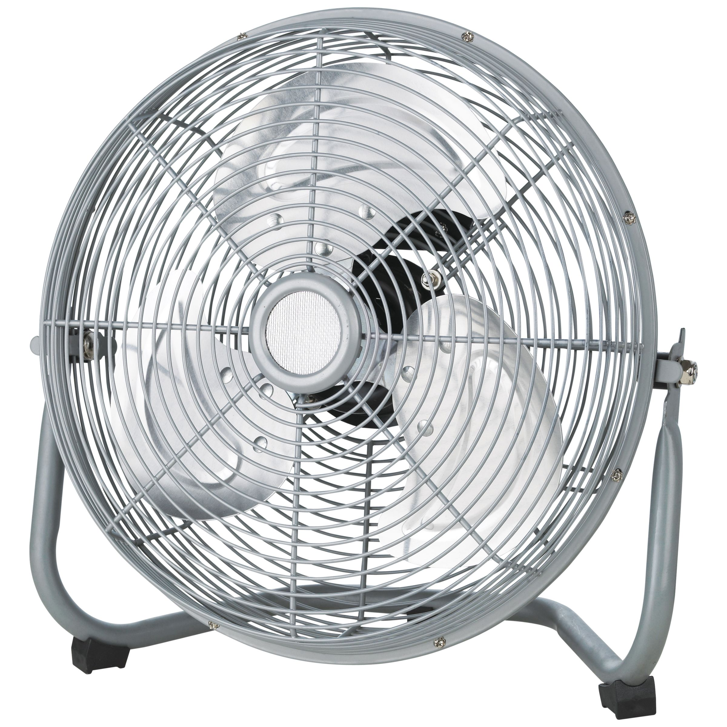 "NSA'UK SFC-300BP 12"" Air Circulator Fan, Silver"