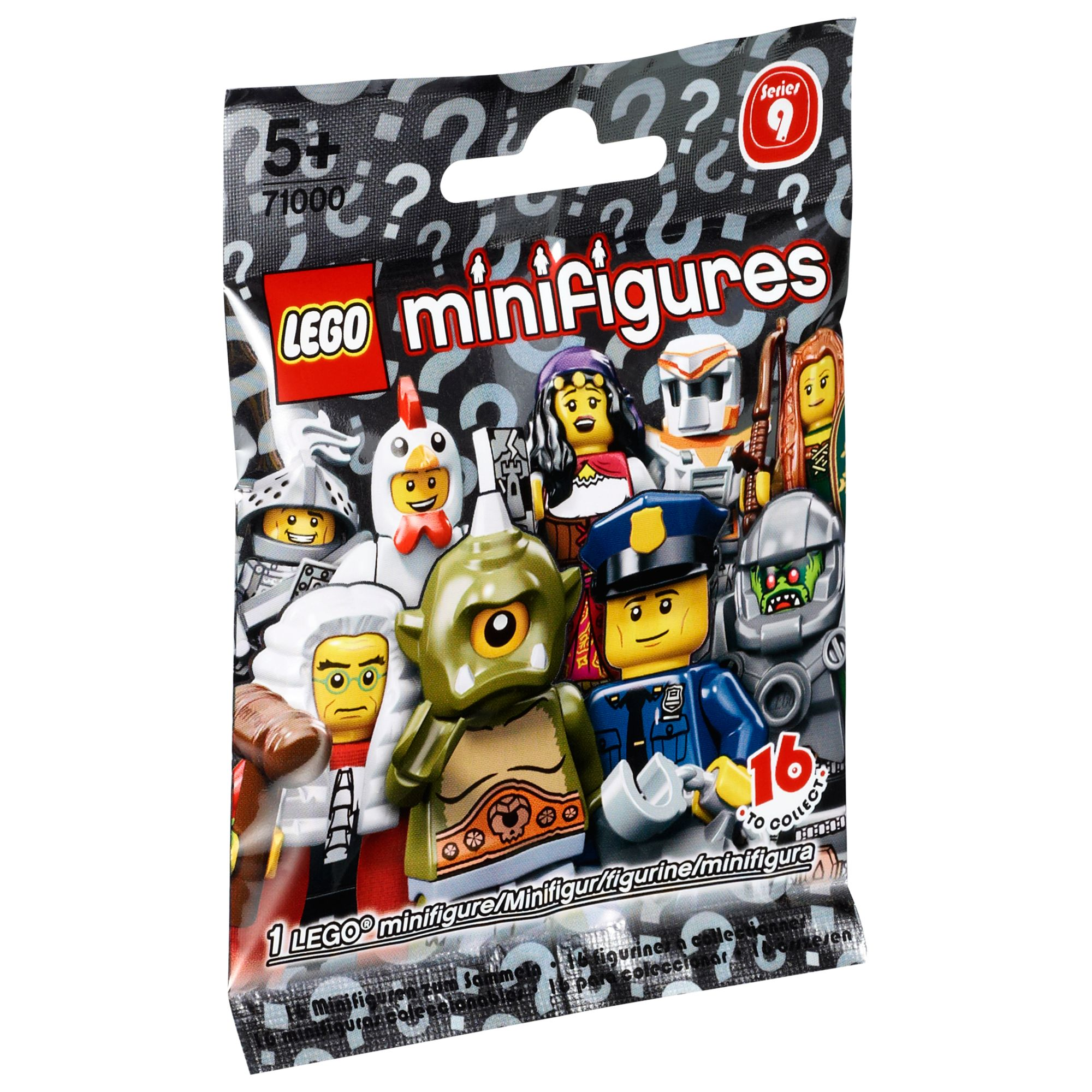Lego Minifigures, Series 9, Assorted