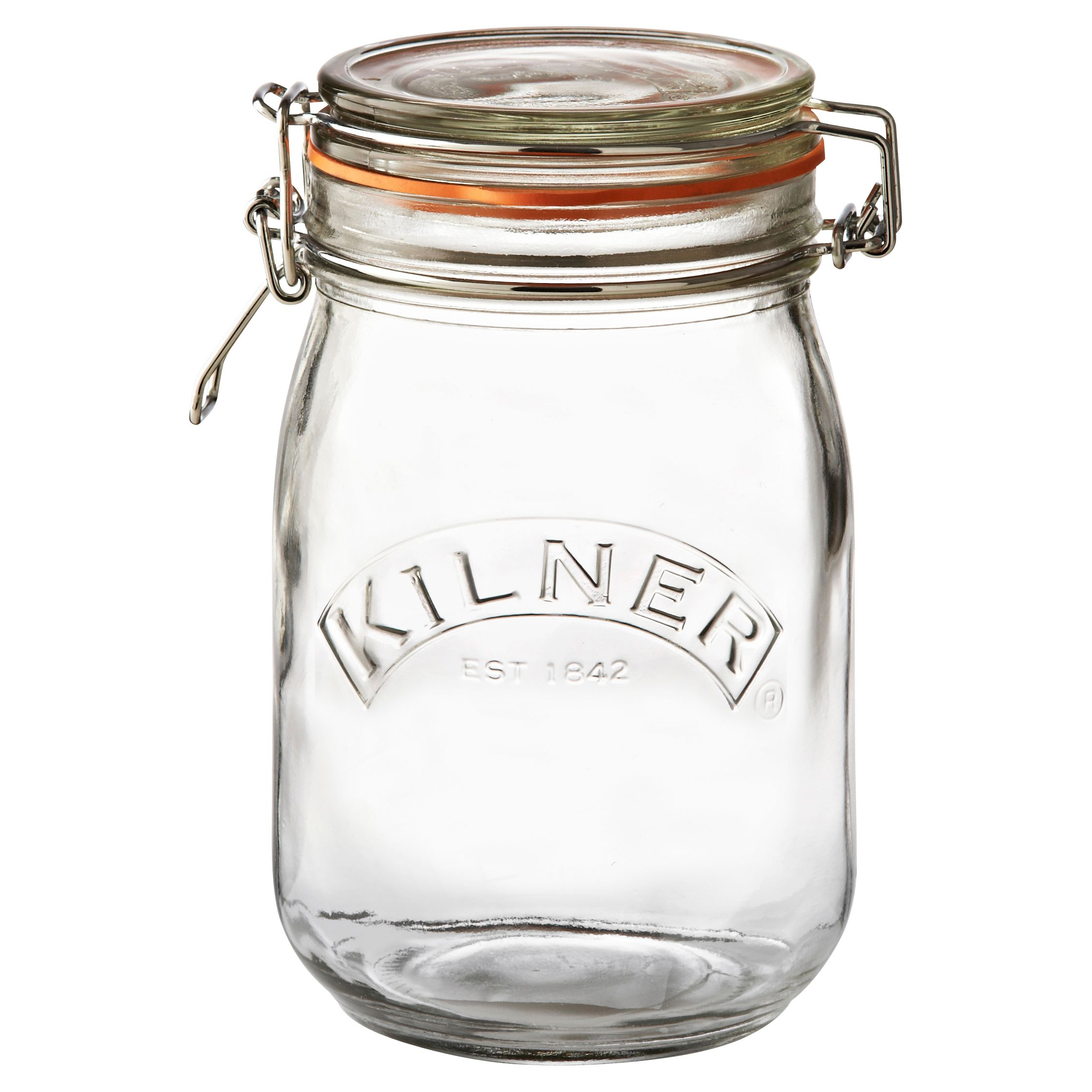 Kilner Clip-top Round Preserving Jar