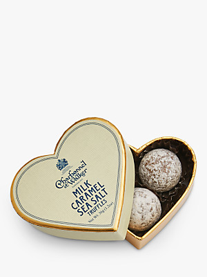 Charbonnel et Walker Sea Salt Caramel Chocolate Truffles Mini Heart