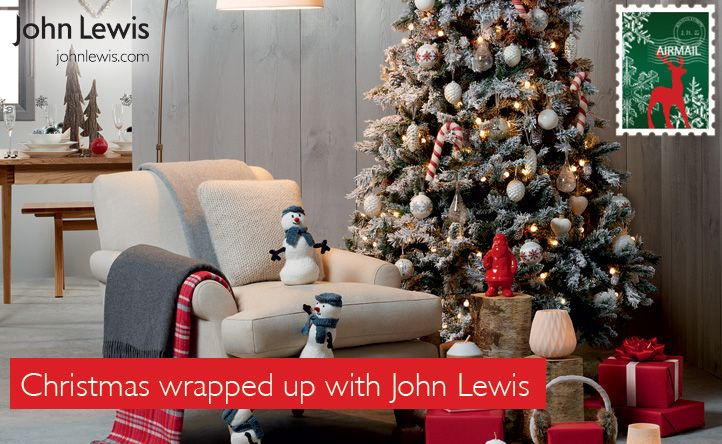 Christmas wrapped up with John Lewis