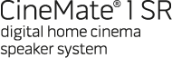 CineMate 1 SR digital home cinema speaker system
