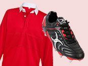 Rugby Clothing & Equipment