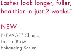 NEW Prevage® Clinical Lash + Brow Enchancing Serum