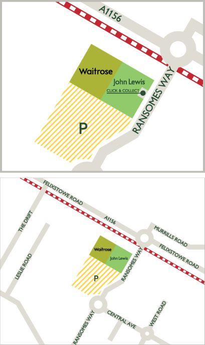 Map of Ipswich