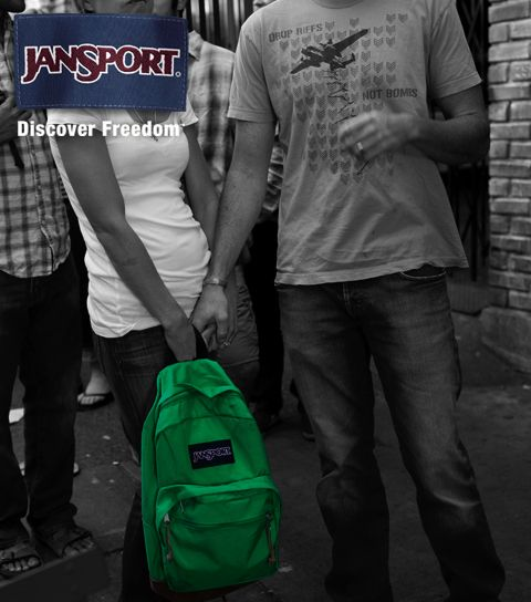 Jansport discover freedom