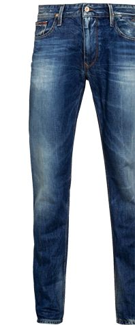 Hilfiger Denim Ryan Standard Straight Jeans, Penrose Blue