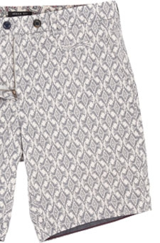 Ted Baker Bywater Printed Shorts, Navy