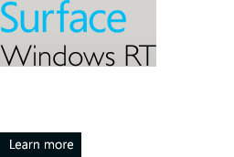Surface Windows  RT