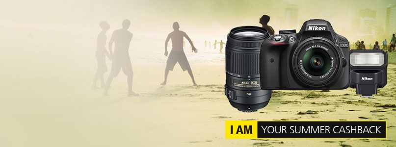Nikon - I am your summer cashback