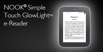 NOOK® Simple Touch GlowLightTM e-Reader