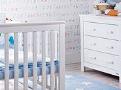 White nursery furniture