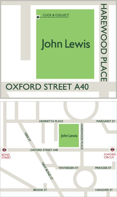 Map of Oxford Street