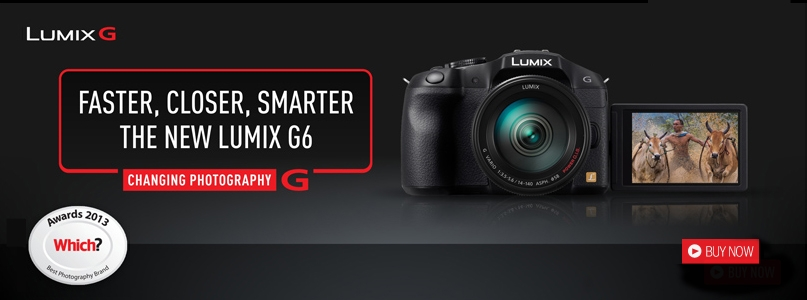 Faster, Closer, Smarter The New LUMIX G6