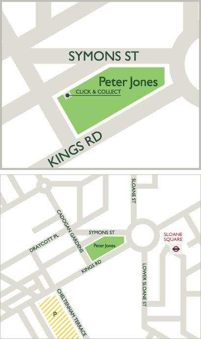 Map of Peter Jones