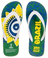 FIFA World Cup 2014 Brazil Men's Flip Flops