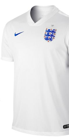 Nike England Home Stadium Shirt