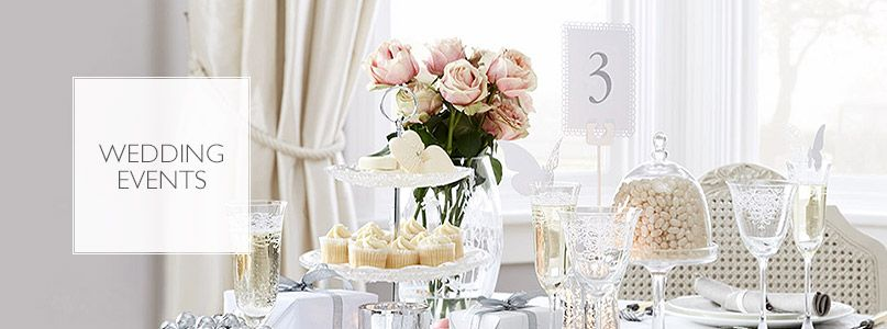 John Lewis Wedding Gift List Delivery : Dressed wedding tableglassware, favours, tableware