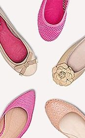 Fifty fabulous flats