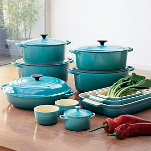 Le Creuset Cookware Teal