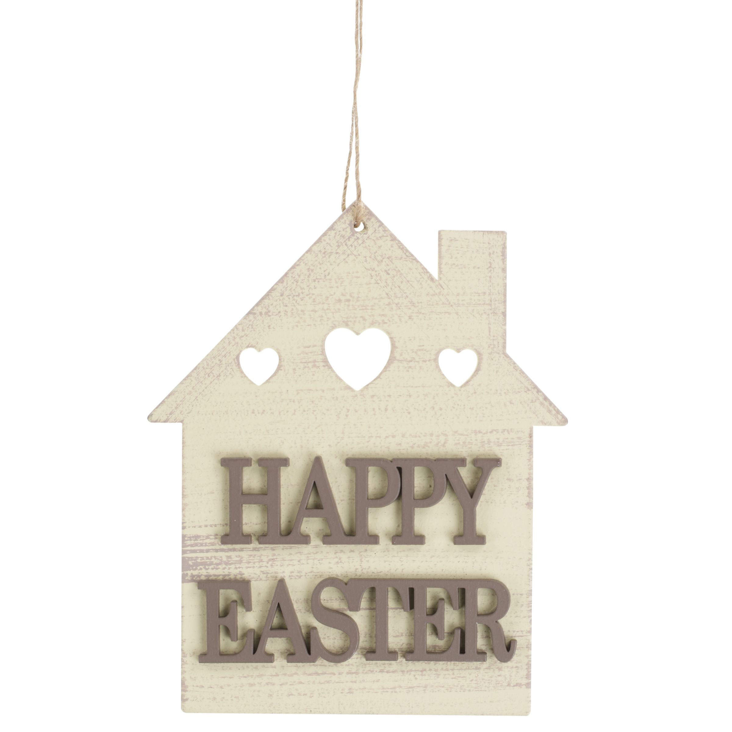 John Lewis Happy Easter House Decoration
