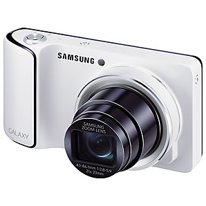 "amsung Galaxy Camera, HD 1080p, 21x Zoom, 16.3MP, Wi-Fi/3G, GPS, 4.8"" Touch Screen with FREE 3 SIM"